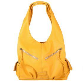 Žlutá kabelka LK-10239-yellow - přední strana