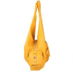 Žlutá kabelka LK-10239-yellow - bok
